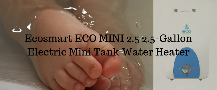 Ecosmart ECO MINI 2.5 2.5-Gallon Electric Mini Tank Water Heater