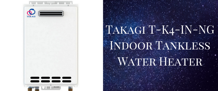 Takagi T-K4-IN-NG Indoor Tankless Water Heater
